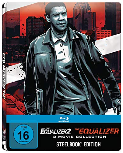 The Equalizer 1 + 2 (Steelbook) [Blu-ray] [Alemania]
