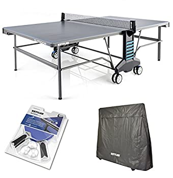 Kettler Outdoor 6 Table Tennis Table w/Accessories