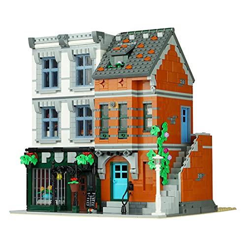 BRIGO MOC-53879 - Juego de construcción de esquina, 2322 piezas, diseño de arquitectura creativa, compatible con Lego