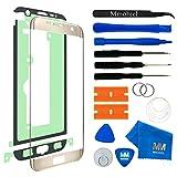 MMOBIEL Écran Tactile Compatible avec Samsung Galaxy S7 Edge G935 Séries (Or) avec Kit d'Outils Complet