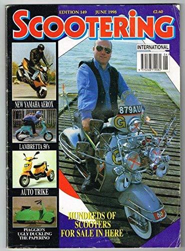 Scootering International Magazine June 1998 MBox3553/H Lambretta 50's