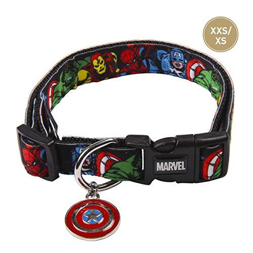 Cerdá Life'S Little Moments Collar Perro Marvel® para Perro Mini - Licencia Oficial Disney Marvel®