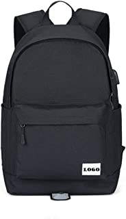 Lxy Mens Backpack College School Backpack Bag Multi-Functional Casual Fashion, Large-Capacity Travel Shopping wk (Color : Black, Size : S)