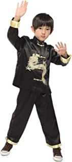 Traditional Chinese Dragon Kung Fu Outfit Tang Suit for Boys