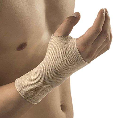 Bort ActiveColor Sport Daumen-Hand-Bandage Handgelenk bandage Gelenk Stütze, hautfarben, L