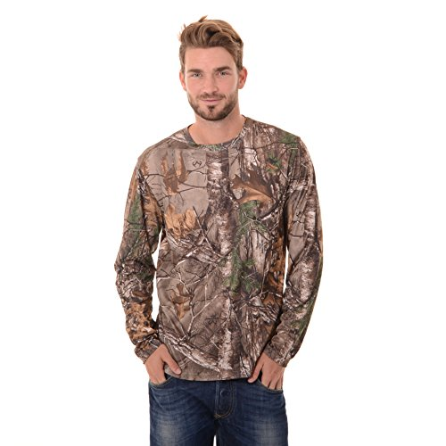 Realtree Men's Long Sleeve Performance T-Shirt