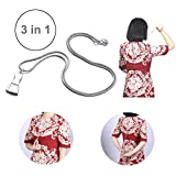 Zipper Puller Dress Zipper Helper Pendant Design Zip Aid Tool Easy to use Zipper Assistant, Zip up Dress and Boots by Yourself (Silver)