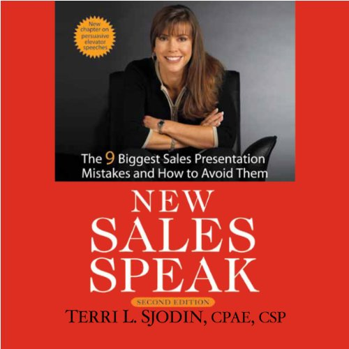 New Sales Speak audiobook cover art