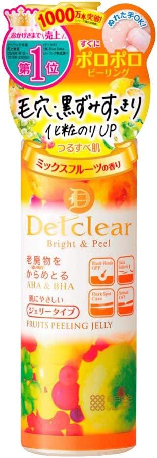明色化粧品 DETクリア ブライト&ピール ピーリングジェリー ミックスフルーツの香り