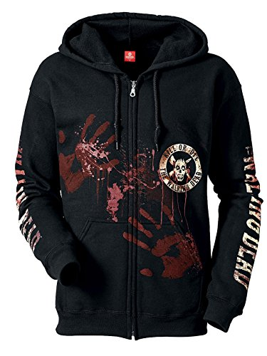 The Walking Dead Kill Or Die Kapuzenjacke schwarz L 80% Baumwolle, 20% Polyester Fan-Merch, TV-Serien