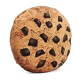 Oh My Pop Pop! Cookies-Pillow Cushion (Large) Reisekissen, 37 cm, Braun (Brown)