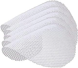 Doublure/tapis/maille de cuiseur à vapeur antiadhésif en silicone rond réutilisable, 5 pièces, coussinet de boulettes de s...
