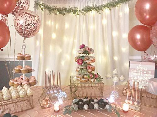 Ballon Set roségold | 30 Stück - 8