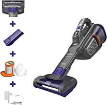 BLACK+DECKER dustbuster Handheld Vacuum, Cordless, AdvancedClean+, Gray (HHVK515JP07)