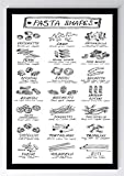 Menü Pasta Shapes Kunstdruck Poster -ungerahmt- Bild DIN