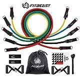 Set de Bandas de Resistencia de FitBeast, bandas elásticas para entrenar con soporte...