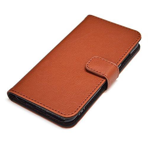 ラスタバナナ iPhone6 Plus/6s Plus 手帳タイプ横型ケース ブラウン 1085IP6B