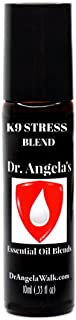 Dr. Angela Walk K9 Stress Retreat Essential Oil Blend | Therapeutic Grade with Cannabis Oil and Hemp Seed Oil | Natural Dog Anxiety Relief Roll-On Bottle 10ml (.33 fl oz) Dog Calming Aid