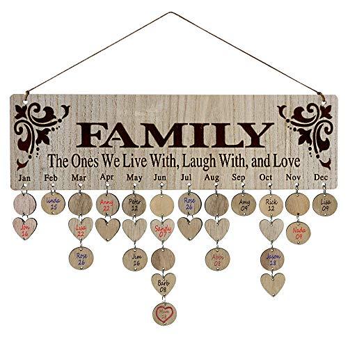 Kauza I Love Mom Gifts Wood Wall Art Valentines Plaque Decorative Signs Plaques Kolenik Home Décor