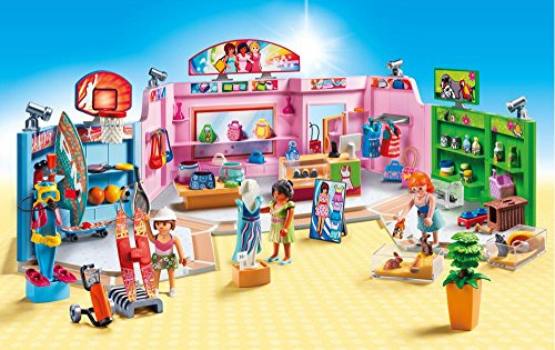 The shopping mall set is one of the best new Playmobil sets that came out last year
