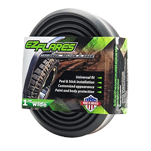 EZ Flares – The Original Universal Flexible Foam Rubber 1-Inch Fender Flares