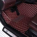 XHULIWQ Alfombrillas de Coche, para Volvo C30 C70 S60 S80 S90 V40 V60 V90 XC40 XC60 XC90 2006-2019, Accesorios Interiores de Alfombrilla Anti-Suciedad a Prueba de Agua Personalizados