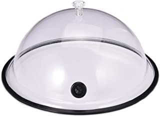 TMKEFFC Smoking Cloche Dome Cover 10 inch Lid for Smoke Infuser, Version 3, Specialized Accessory...