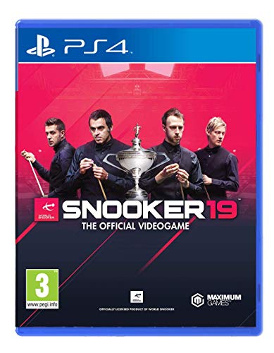 PS4 Snooker 19 The Official Videogame