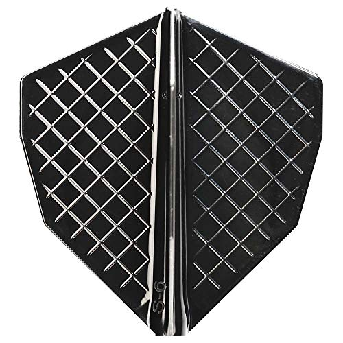 Cosmo darts flights v series s-6 black