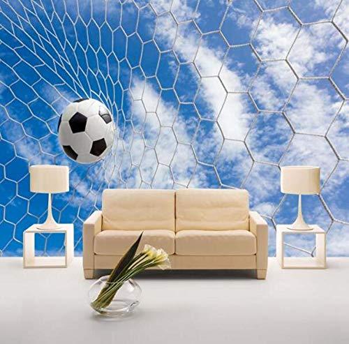 3D vliesbehang fotovlies premium fotobehang textured 3D fotobehang voetbal behangwandschilderijen sofa achtergrond voetbal behang wandschilderij 400*280 400 x 280 cm.