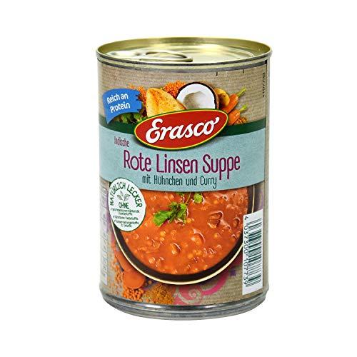 Erasco Indische Rote Linsen Suppe, 390 ml