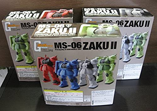 Gundam Series 172 scale prefabricated Soft Mobile Suit 2 Set of 3