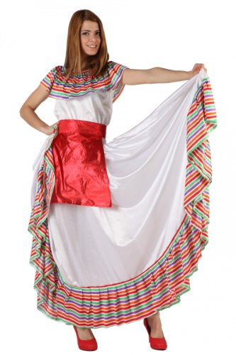 ATOSA disfraz mejicana mujer adulto M