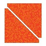 Sizzix 657613 Bigz Die, Half Triangles, 4 1/2-Inch Assembled Square (M&G)