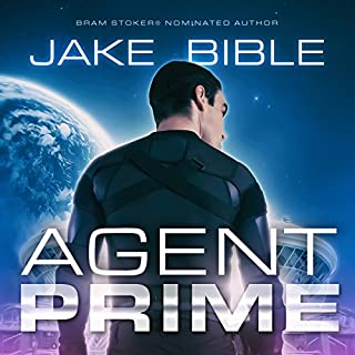 Agent Prime audiobook cover art