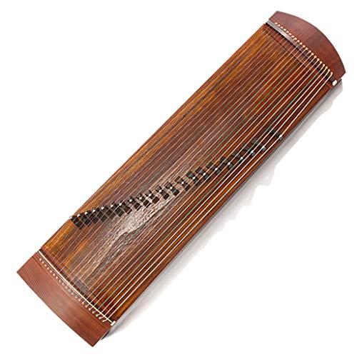 N /A Guzheng, Chinesisch Musikinstrument, 116cm Kleine Guzheng mit dem gleichen Ton als Professional Guzheng, 21 Streicher, Einleitende Praxis, mit einem kompletten Satz von Zubehör