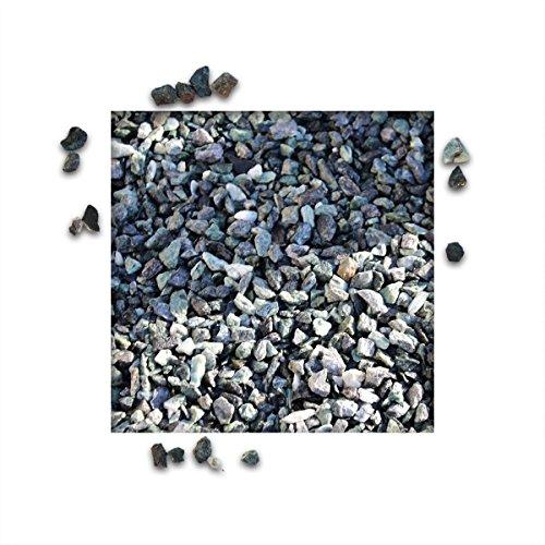 25 kg Marmorsplitt Alpen Grün verschiedene Körnungen Zierkies Ziersplitt Deko Marmor Dekoration Splitt NEU Körnung 5/8 mm