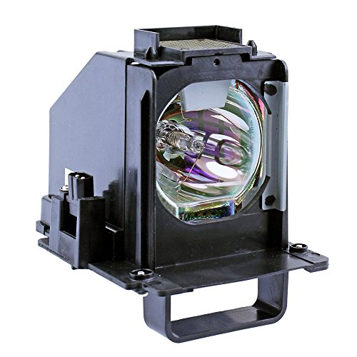 Mitsubishi WD73738 Rear Projector TV Assembly with OEM Bulb and Original Housing