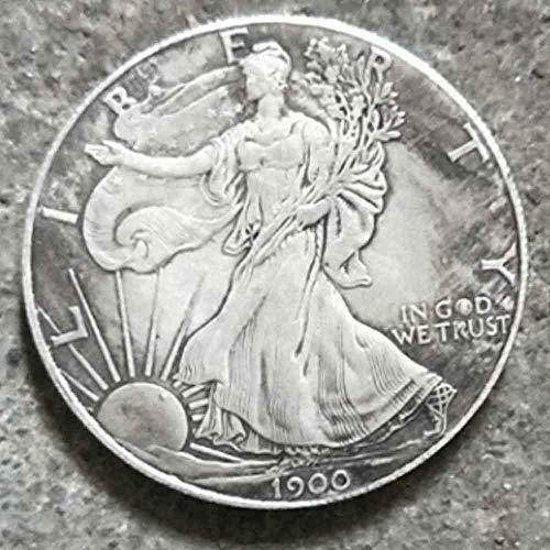 DDTing Best Morgan Silver Dollars - 1900 Old Coin Collecting Silber-Dollar USA Old Original Pre Morgan Dollar GoodService