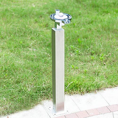 YLLN Grifo LED para Exteriores Grifo de Cascada Grifo de latón con Grietas anticongelante Tipo de Columna Grifo de Interfaz Dual para Villa jardín Patio Piscina Jardín Grifos