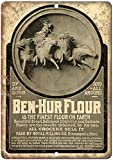 KODY HYDE Metall Poster - Ben-Hur Flour - Vintage