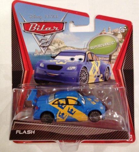 Disney Pixar Cars 2 Ultimate Super Chase Flash Jan Nilsson - Edition Limitée: 4000 - Véhicule Miniature - Voiture
