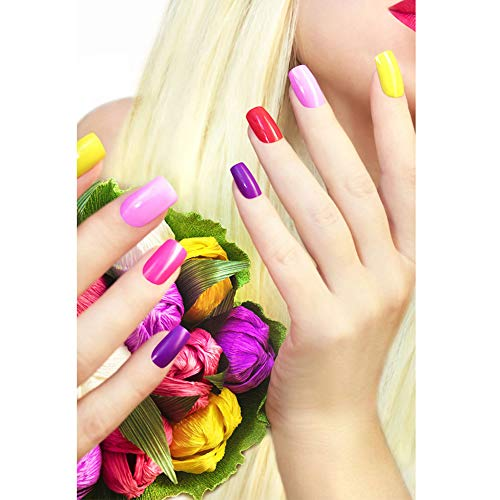 Qingsb - Dipinto su tela per saloni di bellezza, a tema nail art, senza cornice, decorazione da parete, 5#, 40*50cm