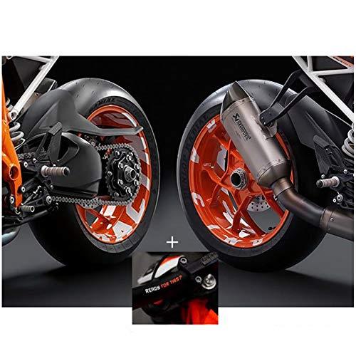 a-parts AD2/RR Kit Pegatinas Racing KTM 1290Super Duke R, Naranja
