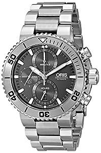 Oris Men's 67476557253MB Analog Display Swiss Automatic Silver Watch