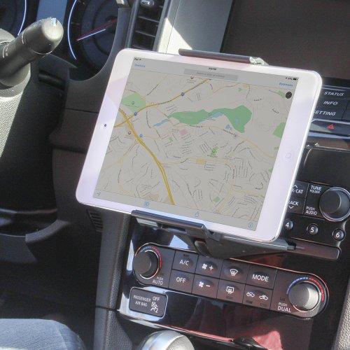 Satechiタブレット車載ホルダーCDスロット取り付け5-11インチ用iPad,Air,Mini,SamsungGalaxyTab,MicrosoftSurfacePro,iPhone12,11など対応
