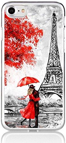 blitzversand Handyhülle Paris kompatibel für Samsung Galaxy S5 Mini Liebe am Eifelturm Schutz Hülle Case Bumper transparent M1