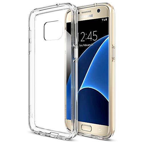 Galaxy S7 Case, Trianium [Clear Cushion] Premium Protective Case for Samsung Galaxy S7Scratch Resistant Seamless Integrated Shock-Absorbing Bumper and Ultra Slim Clear Back Hard Panel Cover