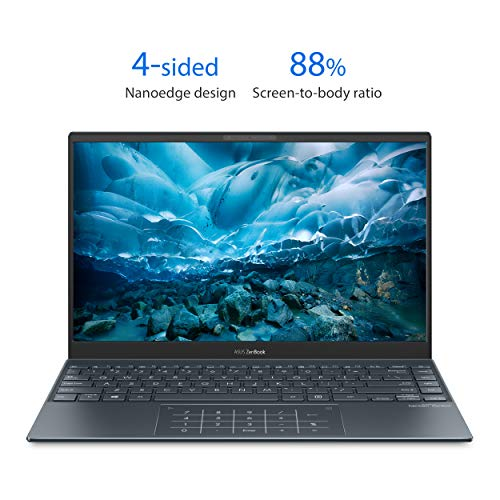 13 inch ASUS ZenBook FHD Intel Quad-core i5-1035G1 2020 Laptop