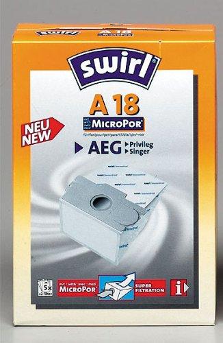 A18 Micropor Qual, Microfilter, Staubverschluß Staubsaugerbeutel von Swirl